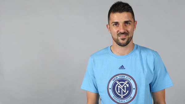 david villa nycfc1 600x337 David Villa Will Begin Training With New York City FC In 2015, Will Be Loaned Out In 2014