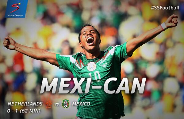 WATCH Giovani Dos Santos's Golazo Against Holland In World Cup [VIDEO]