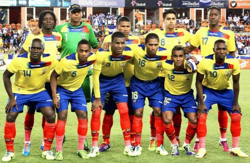 ecuador team Ecuador Names Its 23 Man Squad For World Cup 2014: Segundo Castillo Makes Roster Despite Injury