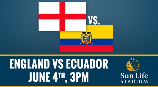England vs Ecuador, World Cup Warmup Match: Open Thread