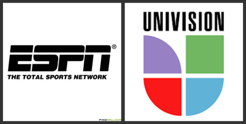 espn univision logos World Cup Opening Game Scores Big Numbers On Univision and ESPN