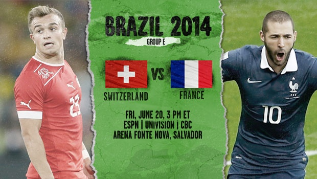 france switzerland France and Switzerland Preview: Teams Battle for Top of Group E