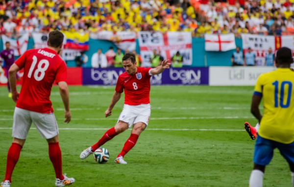 frank lampard2 600x382 England Prepare for World Cup With Warmup Matches in Miami [PHOTOS]
