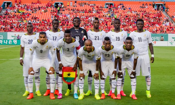 ghana 600x359 Ghana Ready to Take On USA After Demolishing South Korea in Friendly