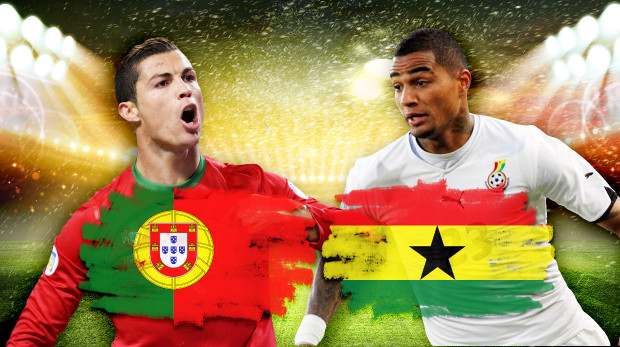 ghana portugal Ghana vs Portugal, Starting Lineups and World Cup Open Thread