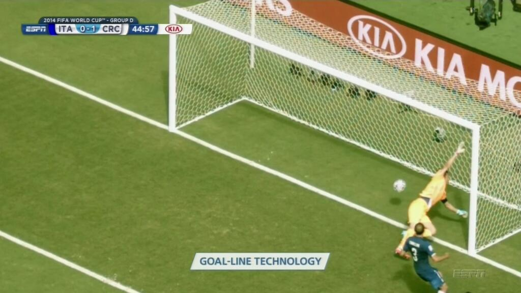 WATCH Costa Rica's Goal Against Italy: Bryan Ruiz Scores to Put Ticos Into Half Time Lead [VIDEO]