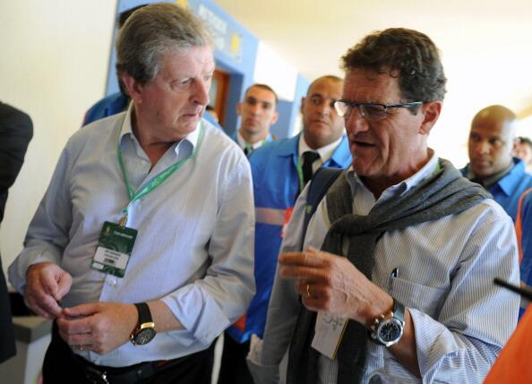 hodgson capello Englands Performances at World Cup 2014 Are Still Better Than 2010