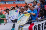 honduras fans 150x99 Photos From England vs Honduras Friendly In Miami: World Cup Warmup Match
