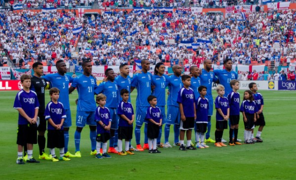honduras team 600x365 Photos From England vs Honduras Friendly In Miami: World Cup Warmup Match
