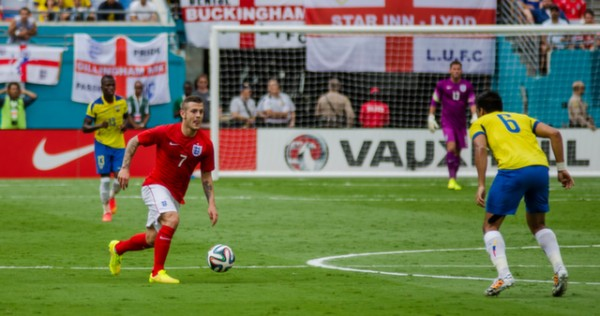 jack wilshere 600x316 England Prepare for World Cup With Warmup Matches in Miami [PHOTOS]