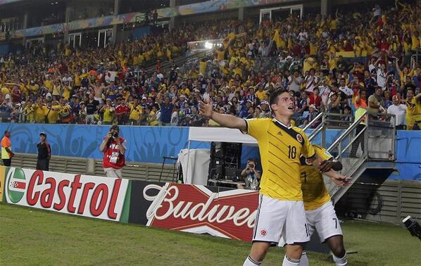 WATCH James Rodriguez's Incredible Goal For Colombia Against Uruguay [VIDEO]