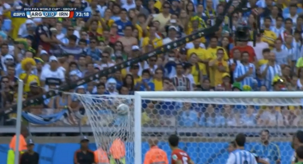 leo messi goal WATCH Leo Messi Score 91st Minute Winner For Argentina Against Iran [VIDEO]