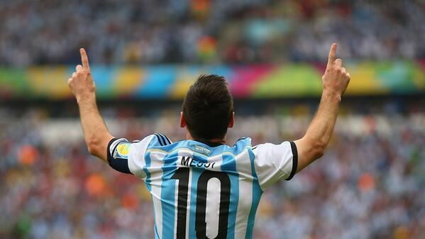 leo messi1 WATCH Messi Score 2 Goals To Put Argentina 2 1 In the Lead In First Half Against Nigeria [VIDEO]