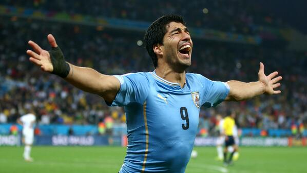 luis suarez1 England Knocked Out Of World Cup By Luis Suarezs 2 Fatal Blows After Costa Rica Upset Italy