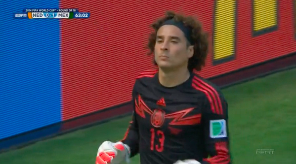 memo ochoa WATCH Guillermo Ochoas Sensational Save Against Holland [VIDEO]