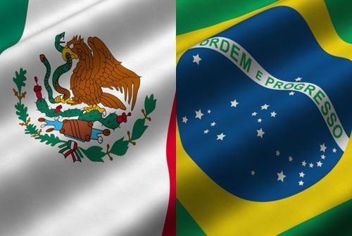 mexibraz Mexico and Brazil Go Into Game With Different Expectations