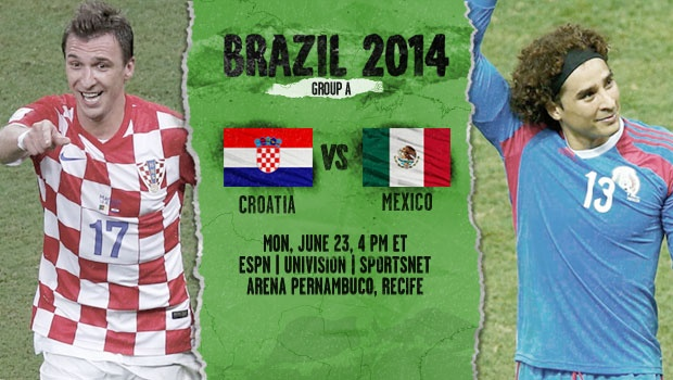 mexico croatia Mexico vs Croatia, Starting Lineups and World Cup Open Thread