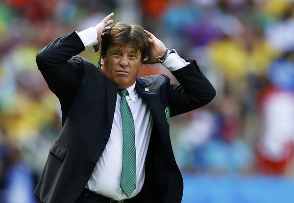 miguel herrera1 Miguel Herreras Changes Backfire As Mexico Crash Out of World Cup