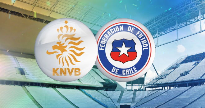netherlands chile1 Netherlands vs Chile: Starting Lineups And World Cup Open Thread