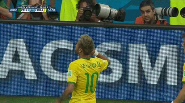 neymar1 Brazilian Superstar Neymar Should Be Fit For Quarterfinal
