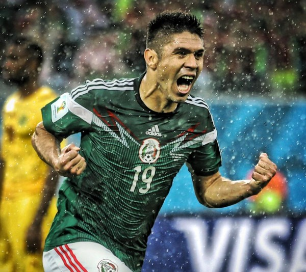 peralta 600x534 Mexico Cant Get Overconfident Going Into Tuesdays Game Against Brazil