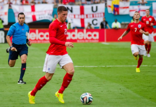 ross barkley england 600x411 England Prepare for World Cup With Warmup Matches in Miami [PHOTOS]