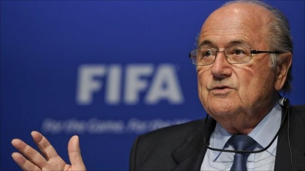 sepp blatter 600x337 What Will FIFA Do About Arjen Robbens Blatant Dive Against Mexico?