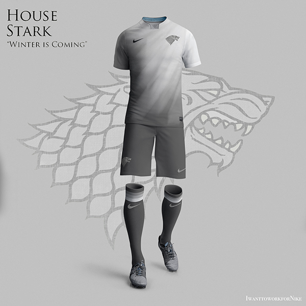 stark 9 Kit Designs for Game of Thrones Houses