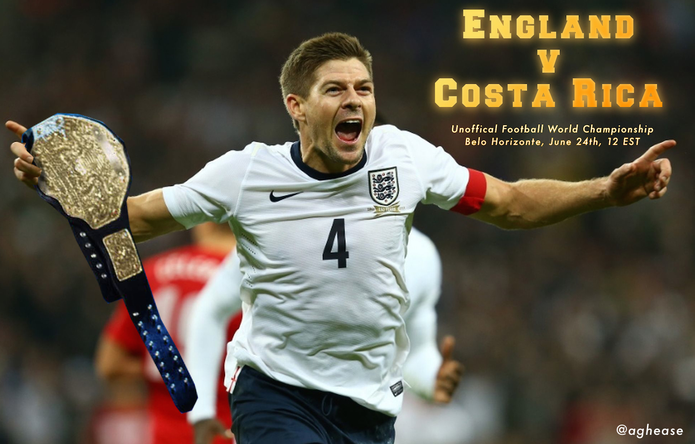 England v Costa Rica Battle for Unofficial World Championship
