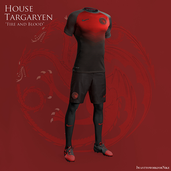 targaryen 9 Kit Designs for Game of Thrones Houses