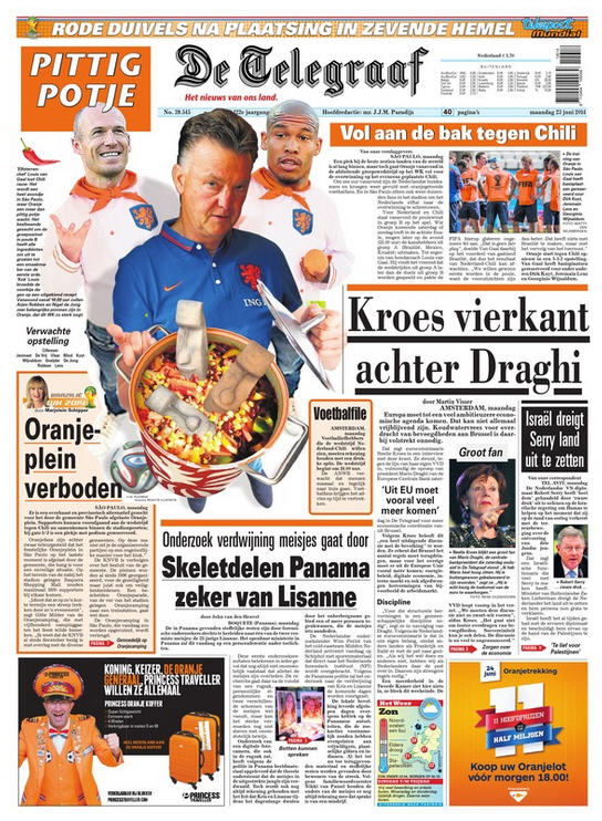 telegraaf chile Dutch Newspaper Runs Mexico Go Home Cartoon On Front Cover [PHOTO]
