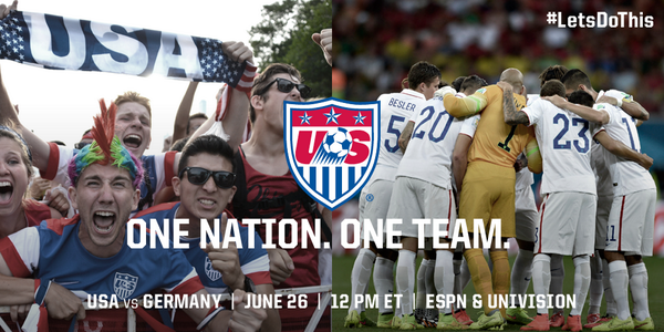 usa germany2 USA vs Germany, Starting Lineups and World Cup Open Thread