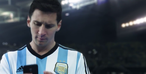 wake up call 600x306 WATCH Adidass New World Cup TV Commercial Starring Messi, Alves, Suarez, Ozil, RVP And More [VIDEO]