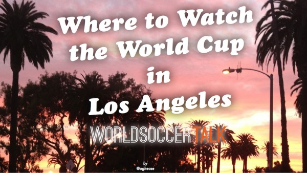 where to watch the world cup in los angeles 600x338 Where to Watch the World Cup in Los Angeles