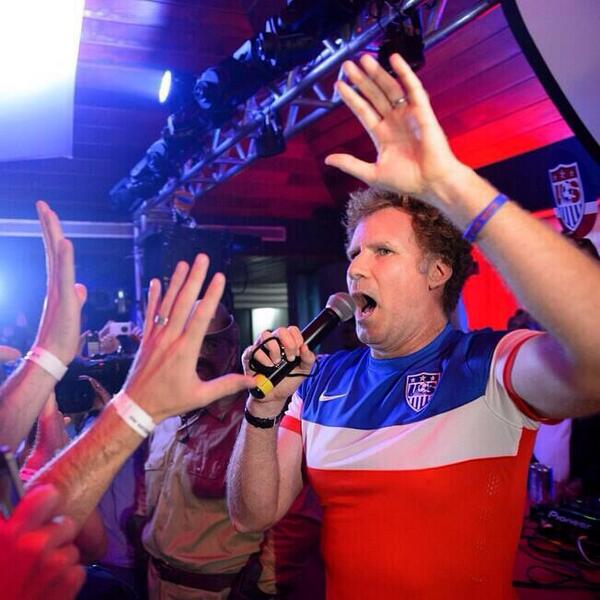 will ferrell Will Ferrell Crashes USMNT Party In Recife to Cheer On Team USA [VIDEO]