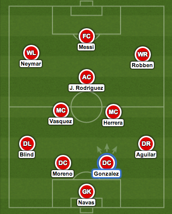 world cup group stages best team Best World Cup Starting XI From Group Matches