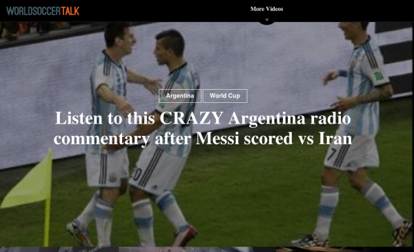 worldsoccertalkdottv 600x365 New Soccer Video Website Launches to Aggregate Best Viral Videos From Across the Web