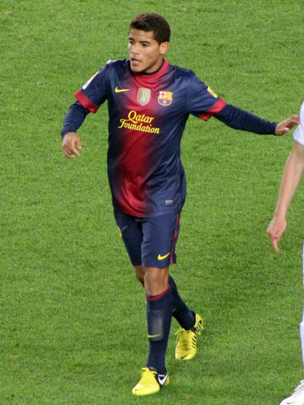 2012 2013   12 Jonathan Dos Santos 1 600x799 Mexican Midfielder Jonathan Dos Santos Set For Villarreal Move From Barcelona