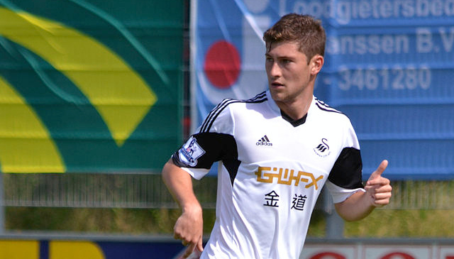 Ben Davies Swansea City1 Tottenham Hotspur Close to Signing Swansea Defender Ben Davies