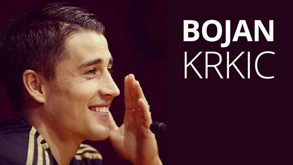 Stoke striker Bojan Krkic ruled out for the rest of the season