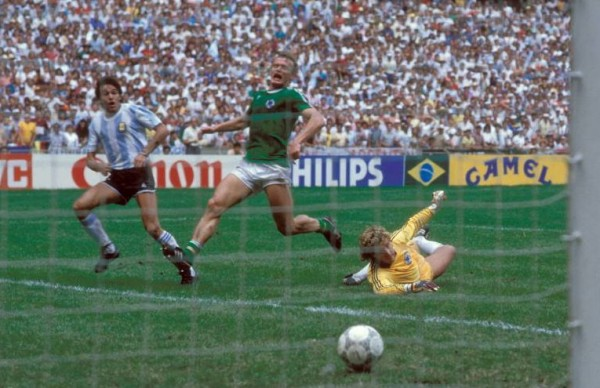 Burruchaga 600x388 WATCH Argentina vs. West Germany, 1986 World Cup Final; The Full 90 Minutes [VIDEO]