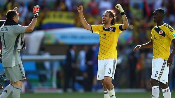 Colombia Defence 600x337 Colombia vs Brazil Preview: Colombia Faces Toughest Test in World Cup
