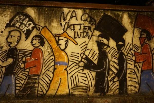 DSC00277 600x400 Travels in Brazil: Street Art Critiques of the World Cup [PHOTOS]