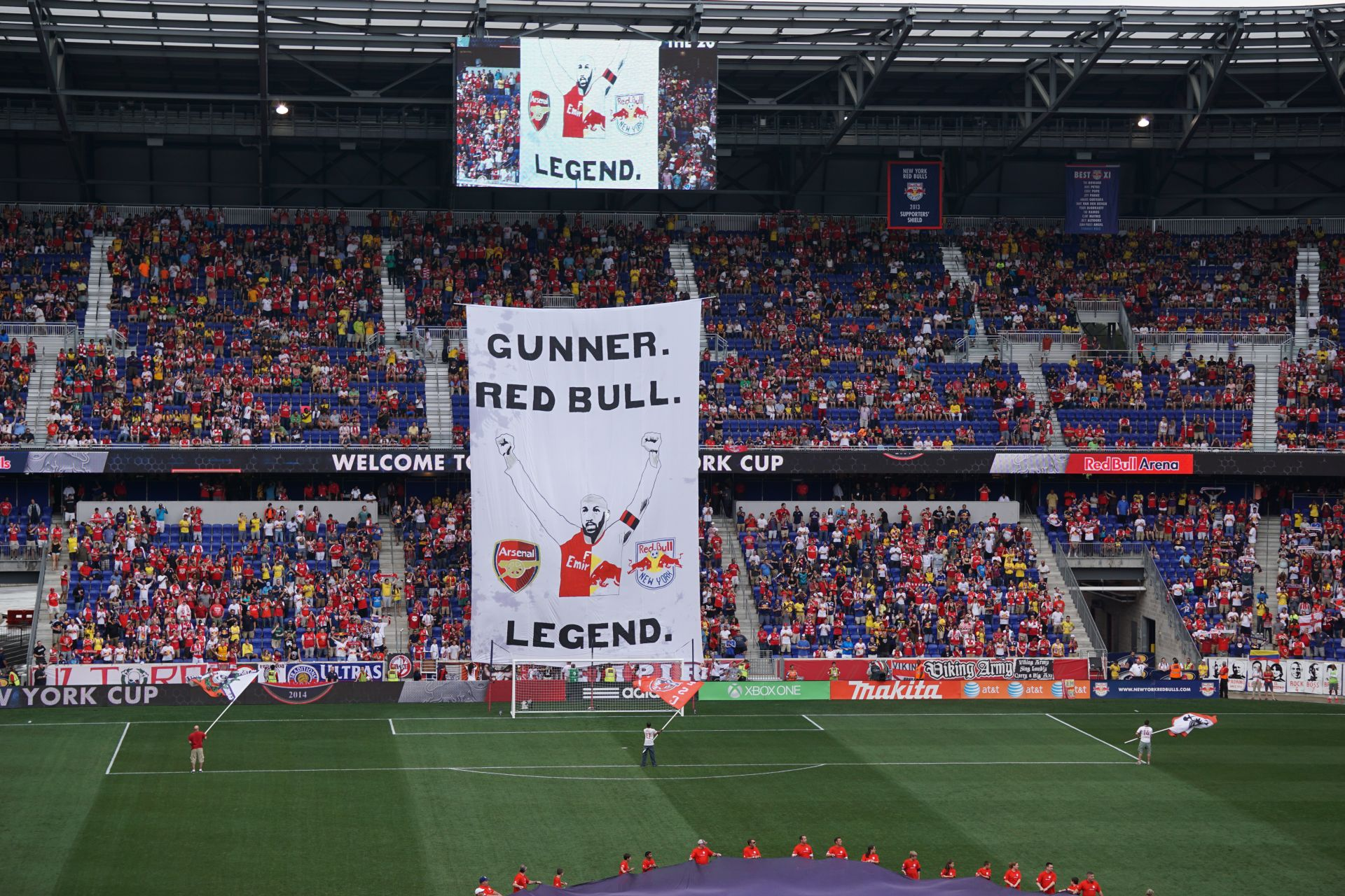 Thierry Henry banner