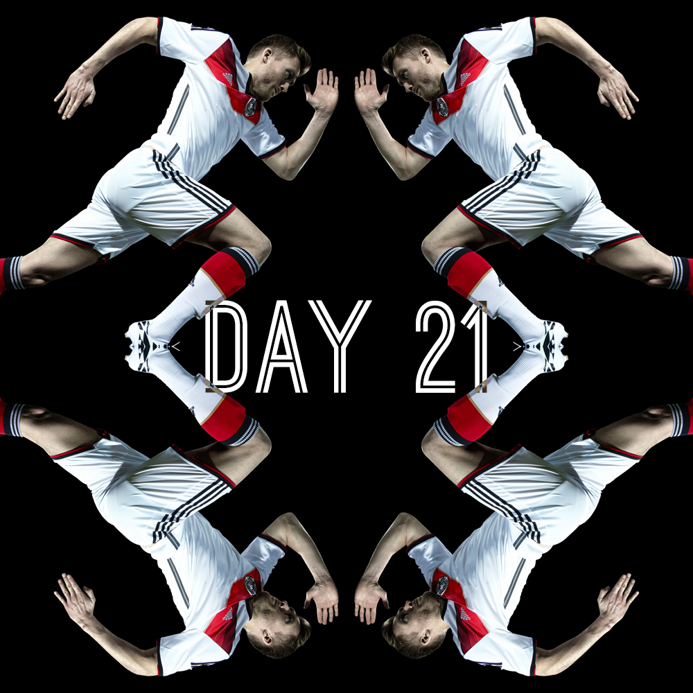 Day 21 – Jogi Love (Brazil 2014 World Cup Show)