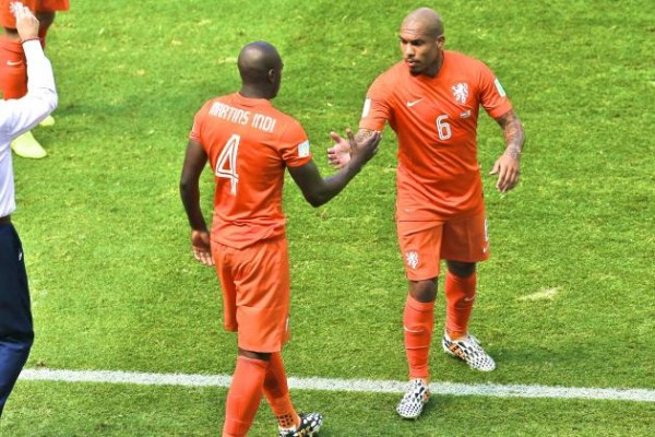 De Jong 600x400 Argentina vs. Netherlands Predicted Lineups and Team News