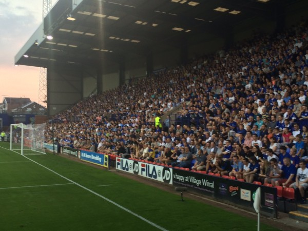 EFC TRFC 1 600x450 Experiencing A Pre Season Friendly in England: The Heart Of English Football