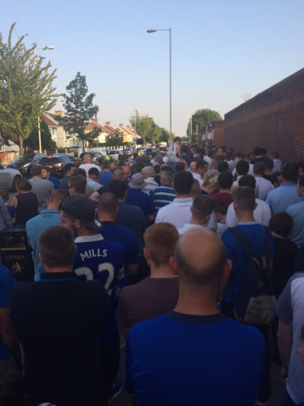 EFC TRFC 2 e1406109363886 600x800 Experiencing A Pre Season Friendly in England: The Heart Of English Football