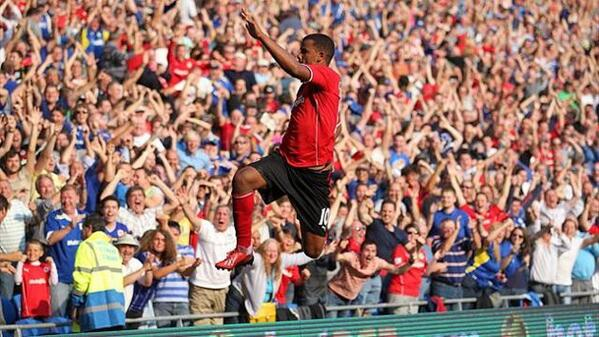 Fraizer Campbell Finalizing a 3-Year Deal With Crystal Palace