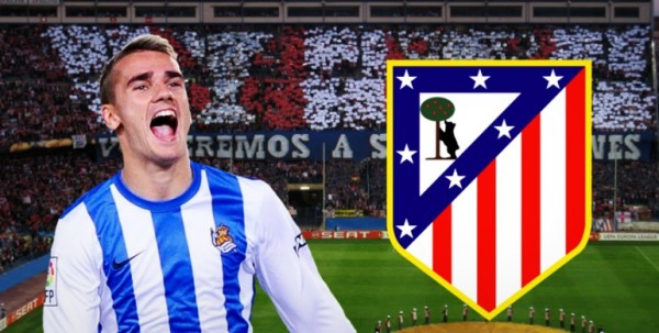 Griezmann 600x303 Atletico Madrid On The Verge Of Signing Antoine Griezmann From Real Sociedad
